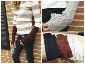 Finger Free Arm Warmers
