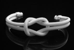 FREE SHIPPING....Tiffany Inspired Knot Bracelet