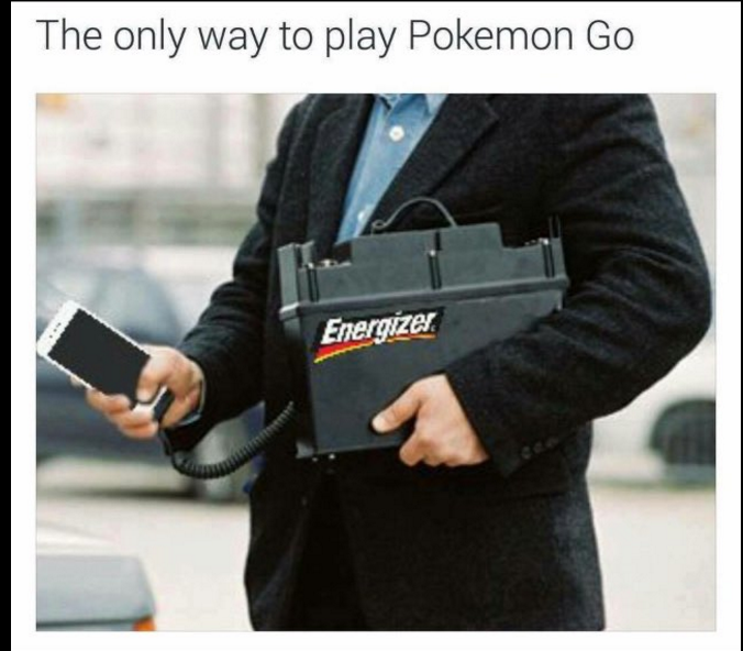 Pokemon go battery tutorial