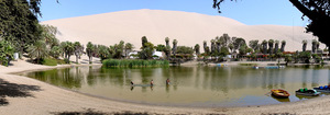 Huacachina d%c3%a9cembre 2006   panorama