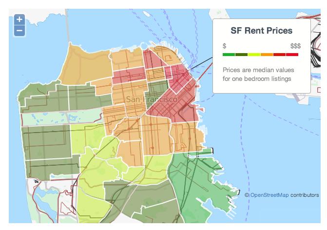the san francisco rent explosion. Black Bedroom Furniture Sets. Home Design Ideas