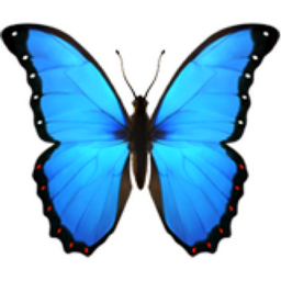 Butterfly emoticon meaning