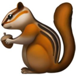Chipmunk Emoji U 1f43f