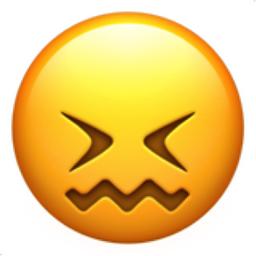 Confounded Face Emoji U 1f616