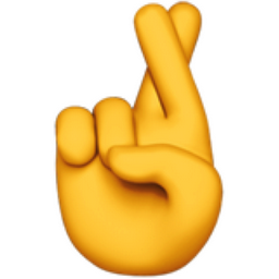 crossed fingers emoji u 1f91e rh iemoji com fingers crossed behind back clipart fingers crossed emoji clipart