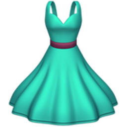 dress emoji u 1f457