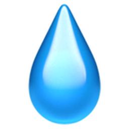 Droplet Emoji U 1f4a7