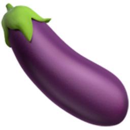 eggplant emoji iphone