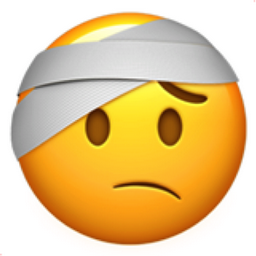Face With Head Bandage Emoji U 1f915