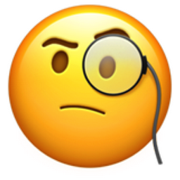 Image result for monocle emoji