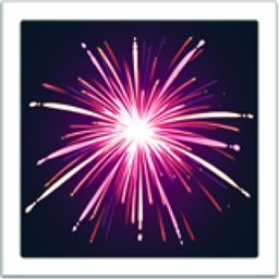 Fireworks Emoji U 1f386