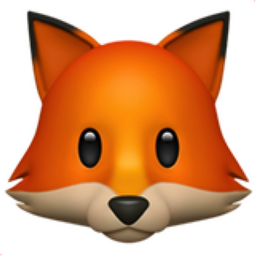 Fox Face Emoji (U+1F98A)