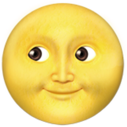 What does the moon emoji mean to you?