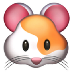 Hamster Face Emoji U 1f439