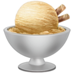 Iphone Chocolate Ice Cream Emoji