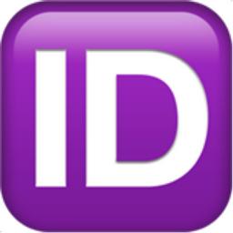 Emoji Information ID Button