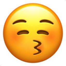 A He Kiss Me Emoji Sent