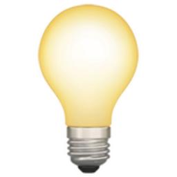 Light Bulb Emoji U 1f4a1