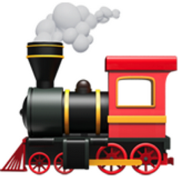 Locomotive Emoji U 1f682