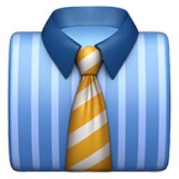 Necktie Emoji (U+1F454...