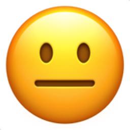 Black smiley face emoji meaning