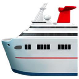 Passenger Ship Emoji U 1f6f3