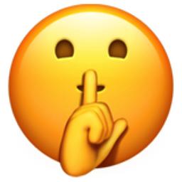 Shushing Face Emoji U 1f92b