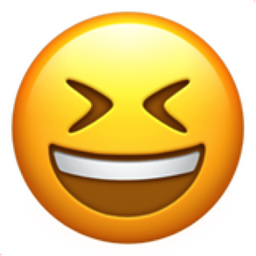 emoji information smiling face with open mouth and closed eyes