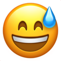 Image result for sweatdrop emoji