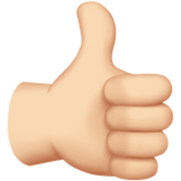 thumbs up light skin tone emoji  u 1f44d  u 1f3fb Spring Time Free Clip Art Copy and Paste Free Goat Clip Art Copy and Paste