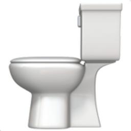 Toilet Emoji U 1F6BD
