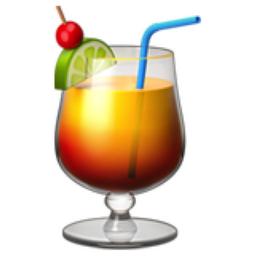 Tropical Drink Emoji U 1f379