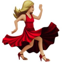 Woman Dancing Medium Light Skin Tone Emoji U 1f483 U 1f3fc