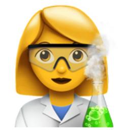 Woman Scientist Emoji U 1f469 U 200d U 1f52c