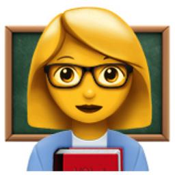 Image result for lecturer emojis