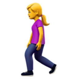 Woman Walking Emoji U 1f6b6 U 200d U 2640 U Fe0f