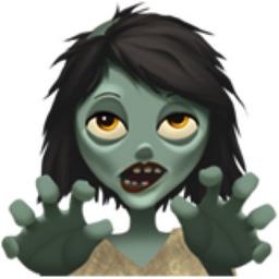 Woman Zombie Emoji U 1f9df U 200d U 2640 U Fe0f