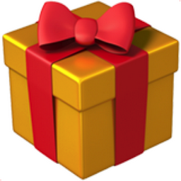 Wrapped Gift Emoji U 1f381