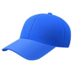 Billed Cap Emoji U 1f9e2