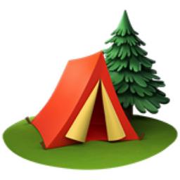 Camping Emoji U 1f3d5