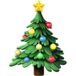 Christmas Tree Emoji U 1f384