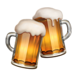 Clinking Beer Mugs Emoji (U+1F37B)