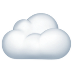 Cloud Emoji U 2601 U Fe0f