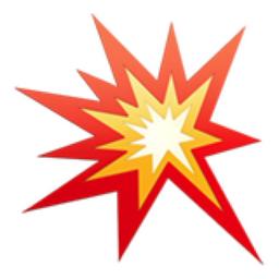 Collision Emoji U 1f4a5
