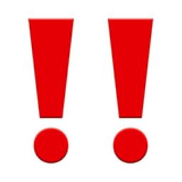 Double Exclamation Mark Emoji U 3c U Fe0f