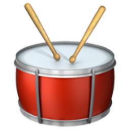 Drums emoji