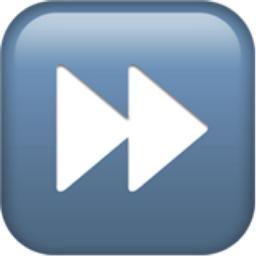 Fast Forward Button Emoji U 23e9