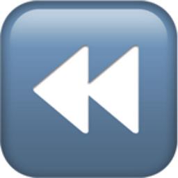 Fast Reverse Button Emoji U 23ea
