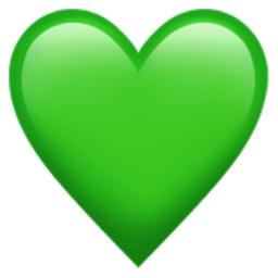 Green Heart Emoji U 1f49a