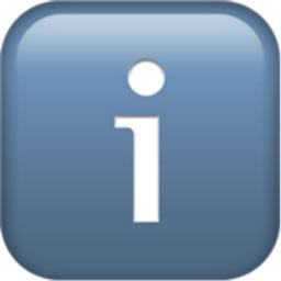 Information Emoji U 2139 U Fe0f